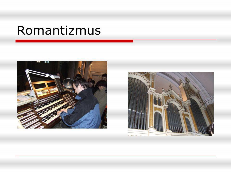 Současné varhany Dnešní varhanářství se snaží obrátit zpět k ideálům a zvukové kráse barokních strojů.