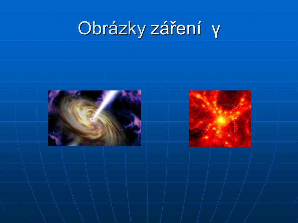 Obrázky záření γ