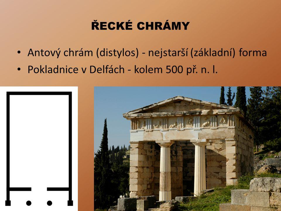 DÓRSKÝ ŘÁD Od poč.6. stol. př. n. l.