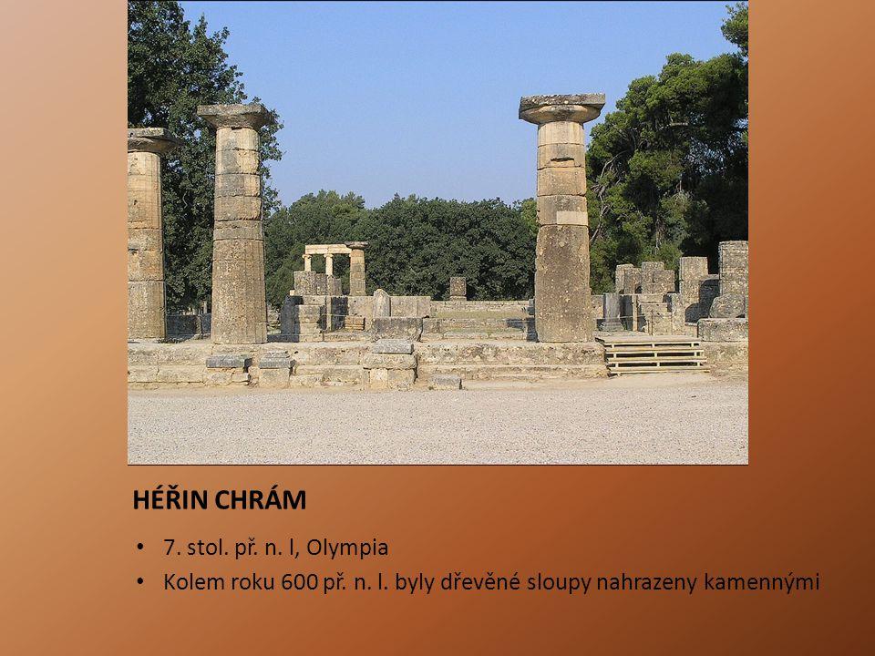 PARTHENÓN 447-438 př.n.