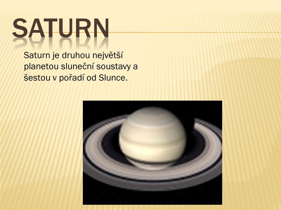 Jupiter je pátou a největší planetou sluneční soustavy.