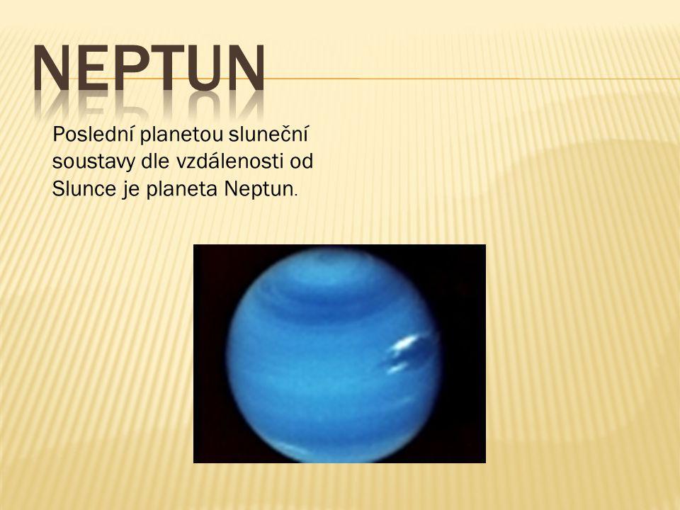 Uran je v pořadí od Slunce sedmou planetou a třetí největší planetou ve sluneční soustavě.