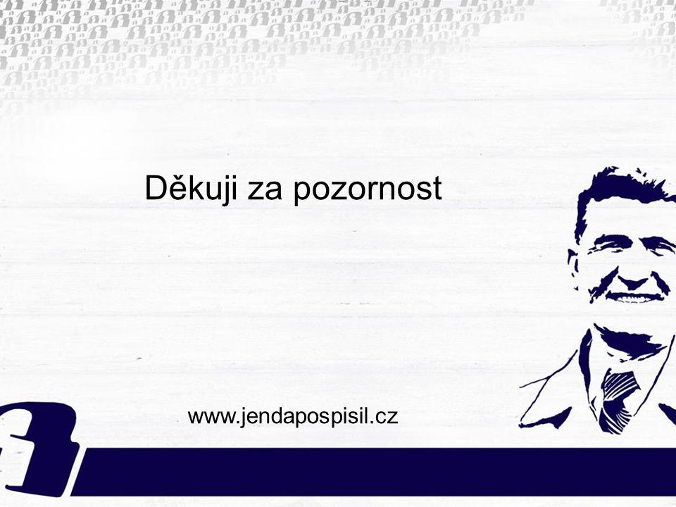 Děkuji za pozornost www.jendapospisil.cz