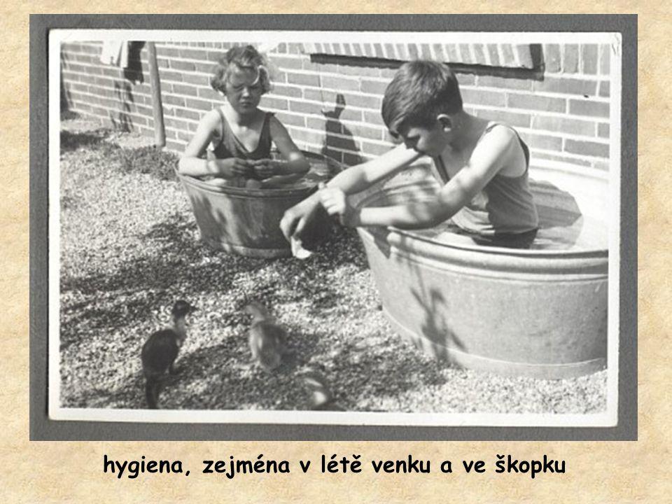 vodovod byl někdy vymožeností, ale voda byla osvěžující a bez přísad
