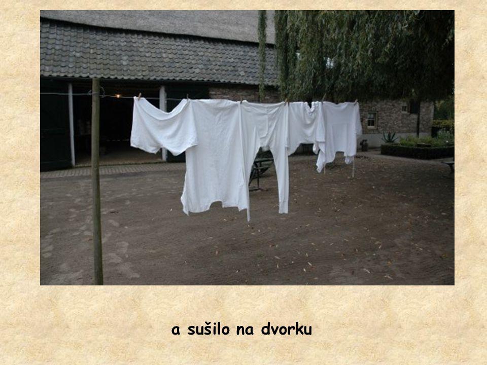 prádlo se pralo i na valše