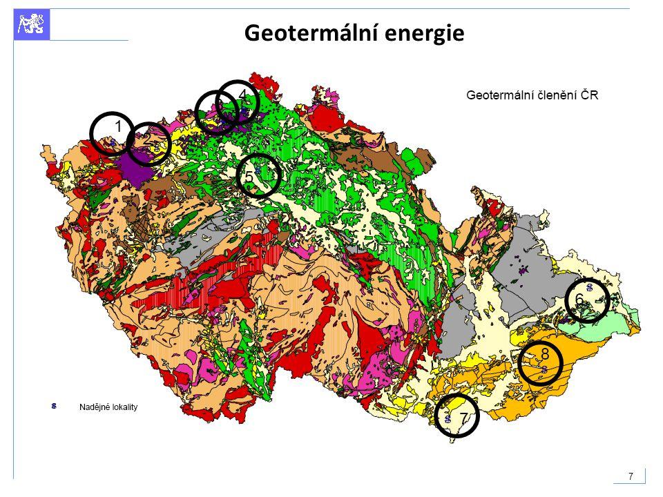 7 Geotermální energie