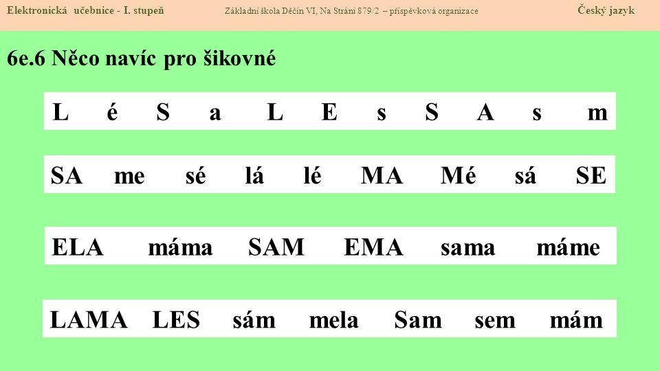 6e.7 CLIL Elektronická učebnice - I.