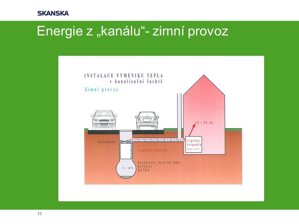 """Energie z """"kanálu - zimní provoz 11"""