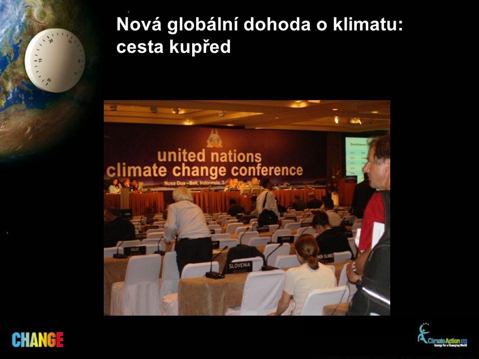 Nová globální dohoda o klimatu: cesta kupřed