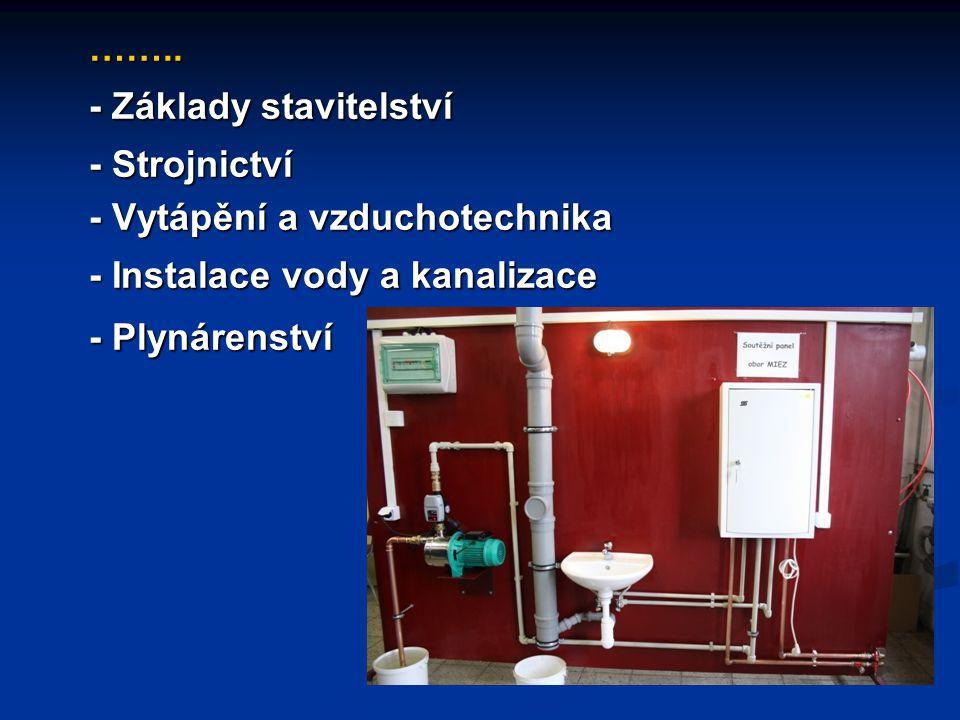 - Měření a regulace - Měření a regulace - Základy elektrotechniky - Základy elektrotechniky - Elektrické stroje a přístroje - Elektrické stroje a přístroje - Elektronika - Elektronika - Rozvod a užití elektrické energie - Rozvod a užití elektrické energie - Elektrické měření - Elektrické měření