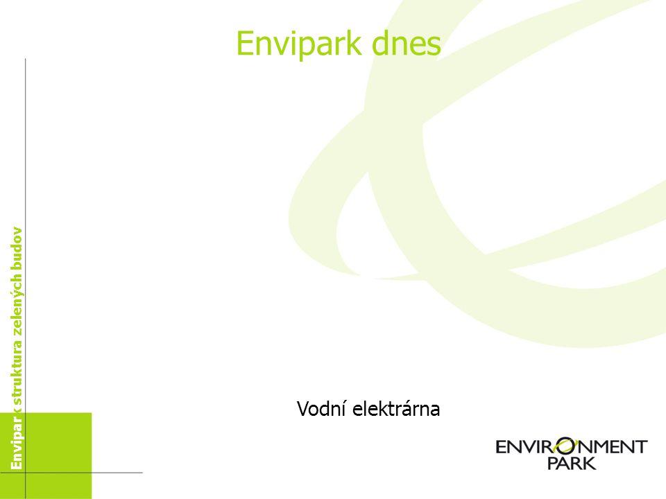 Vodní elektrárna Envipark dnes Envipark struktura zelených staveb