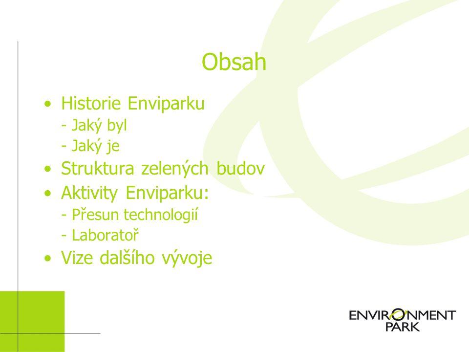 ENVIRONMENT PARK VĚDECKÝ A TECHNOLOGICKÝ PARK PRO ŽIVOTNÍ PROSTŘEDÍ Mattia Seira www.envipark.com