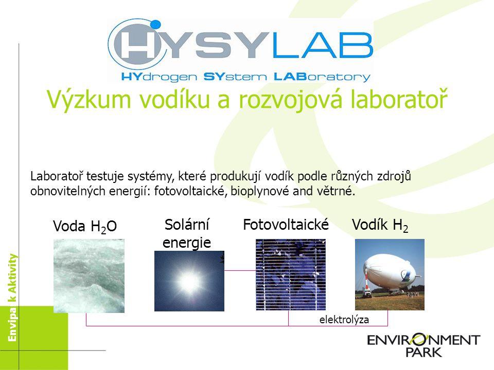 Laboratoře se sídlem v Parku 12 věnujících se problémům životního prostředí (10 soukromých firem + 2 veřejné instituce) 4 zabývající se jinými technol
