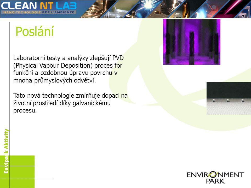 Nano-technologie: směrem k eko- efektivitě Envipark Aktivity