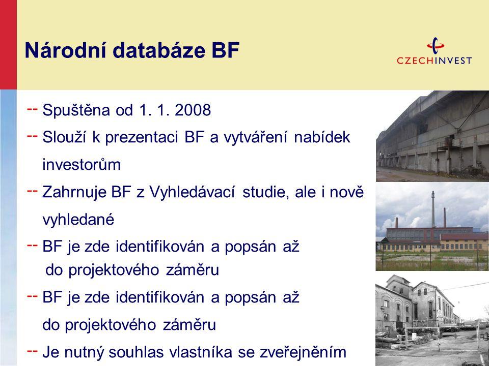 Národní databáze BF ╌ Spuštěna od 1. 1.