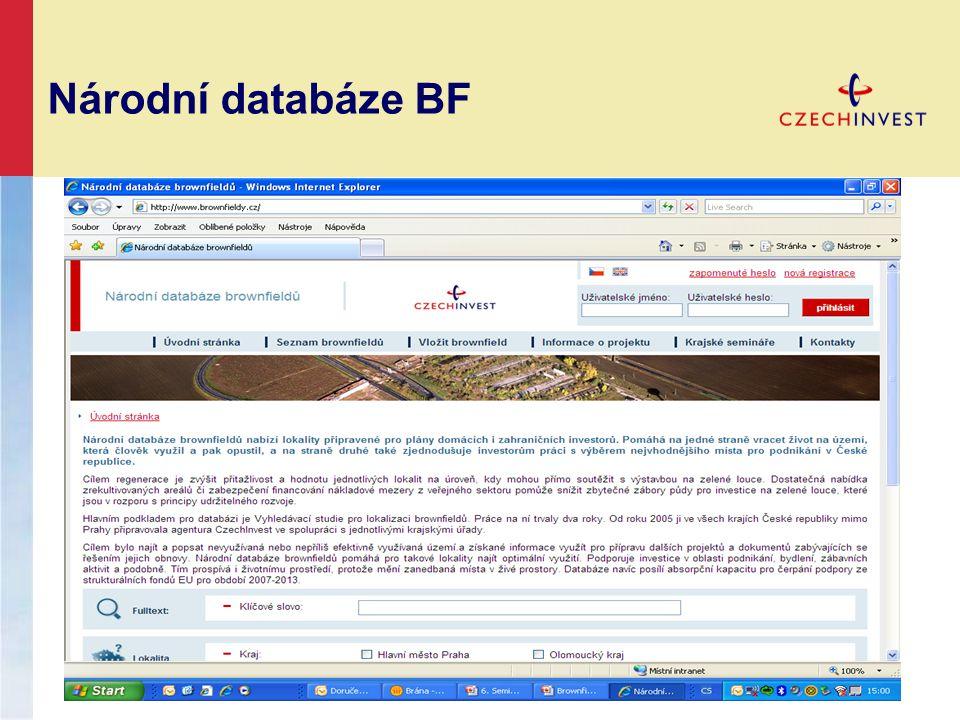 Národní databáze BF