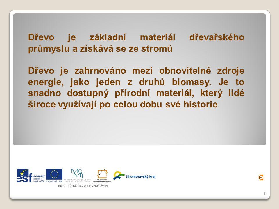 4 Dřevozpracující průmysl patří v České republice k odvětvím s nejstarší tradicí.