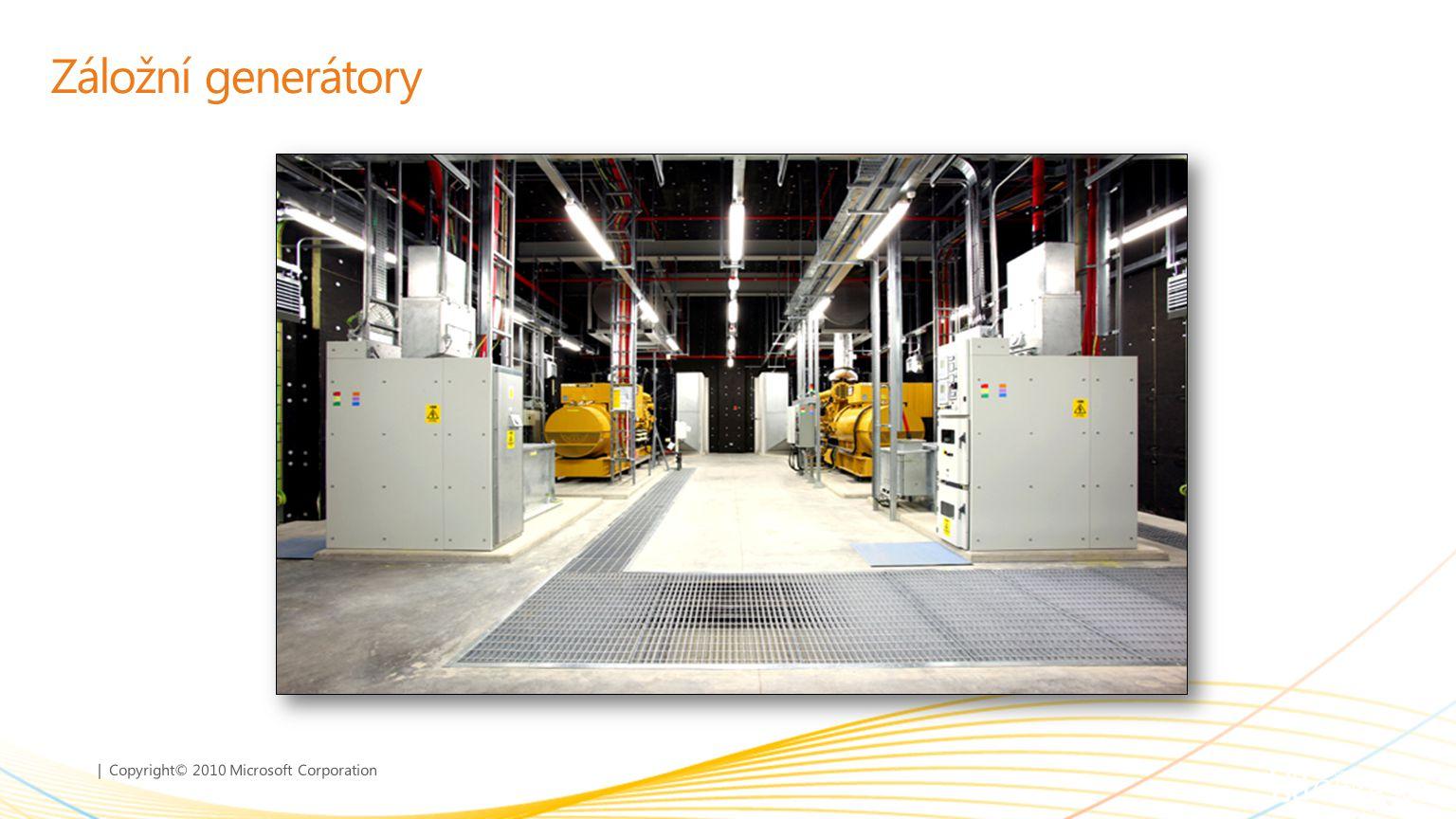 | Copyright© 2010 Microsoft Corporation Záložní generátory