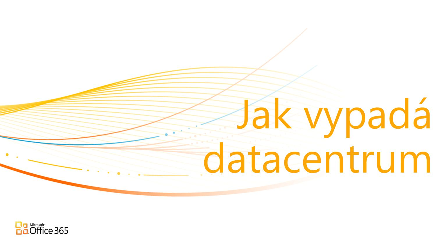 Jak vypadá datacentrum