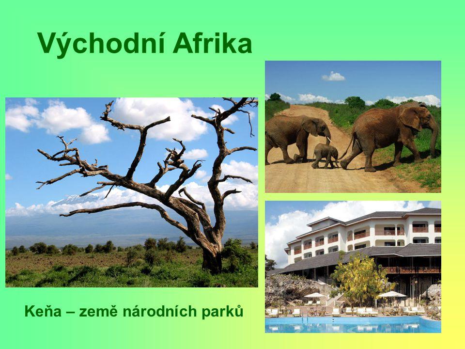 Východní Afrika Keňa – země národních parků