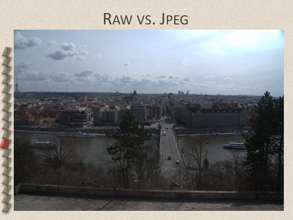 R AW VS. J PEG