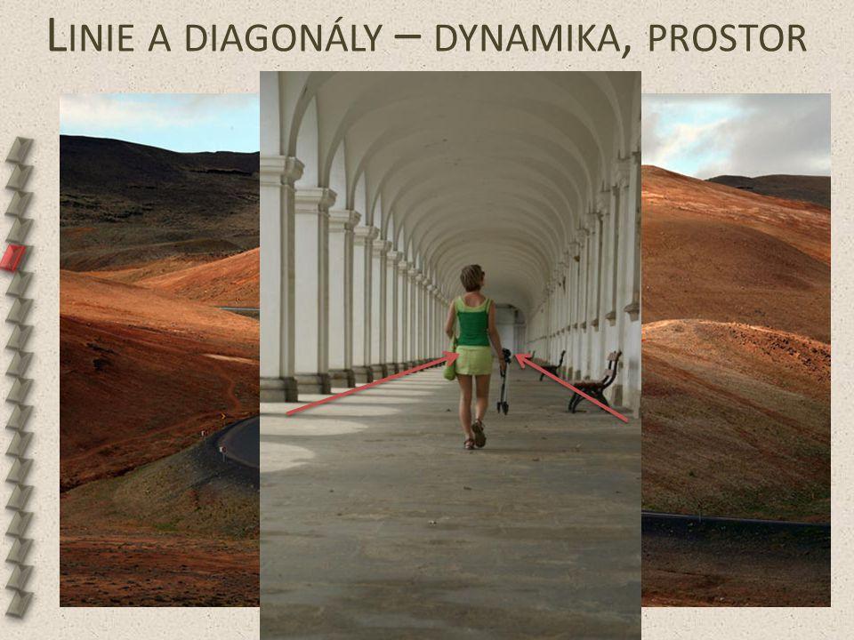 L INIE A DIAGONÁLY – DYNAMIKA, PROSTOR