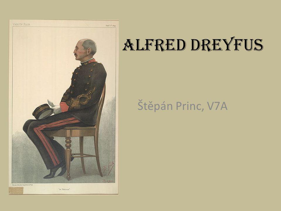 Alfred Dreyfus Štěpán Princ, V7A