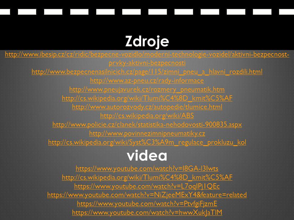 Zdroje http://www.ibesip.cz/cz/ridic/bezpecne-vozidlo/moderni-technologie-vozidel/aktivni-bezpecnost- prvky-aktivni-bezpecnosti http://www.bezpecnenas