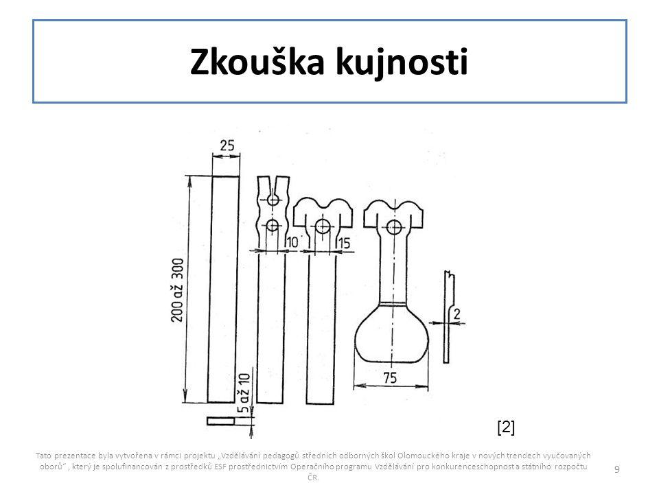 """Zkouška kujnosti Tato prezentace byla vytvořena v rámci projektu """"Vzdělávání pedagogů středních odborných škol Olomouckého kraje v nových trendech vyu"""