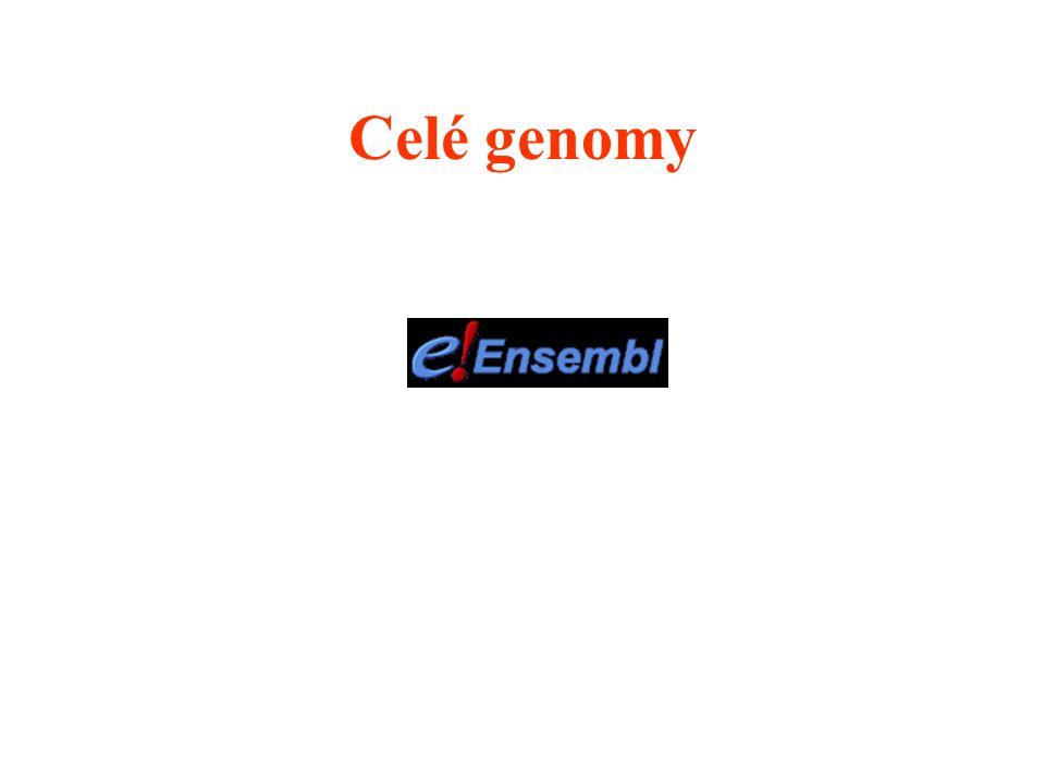 Celé genomy