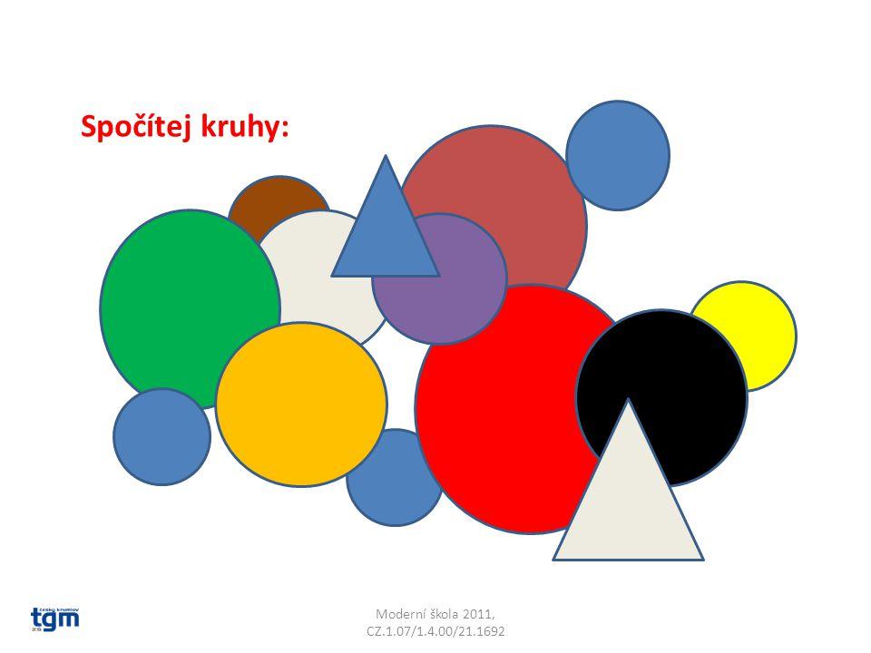 Moderní škola 2011, CZ.1.07/1.4.00/21.1692 Spočítej kruhy: