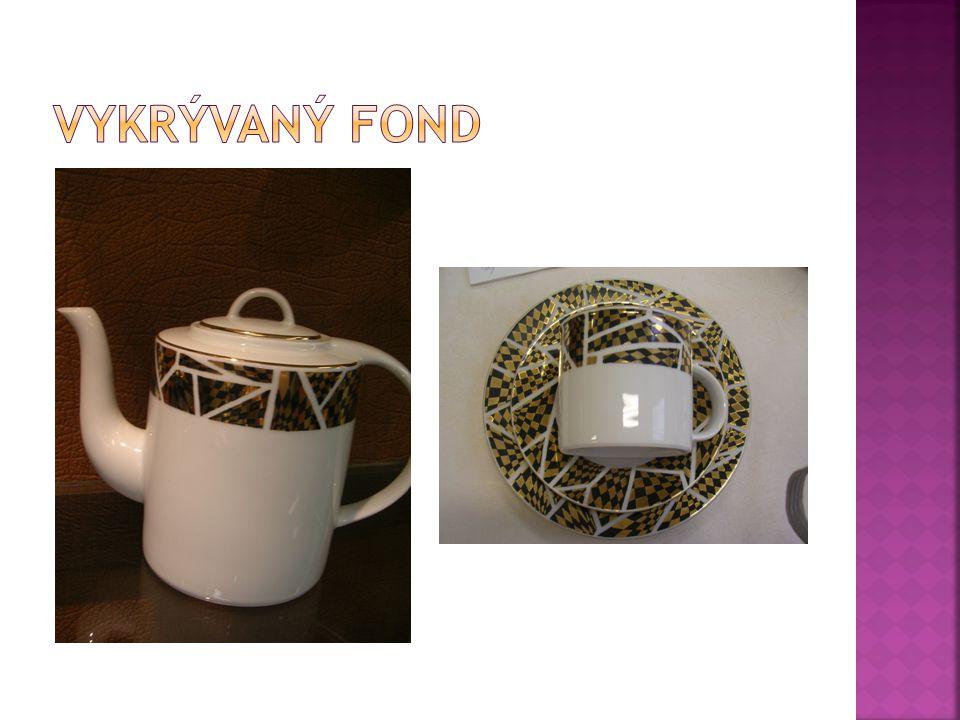  Fond známe:  Plný – vykrývá celou hlavní plochu výrobku.
