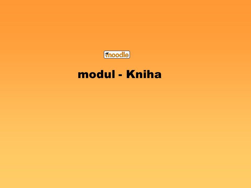 modul - Kniha