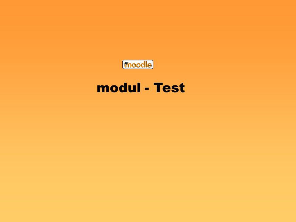 modul - Test