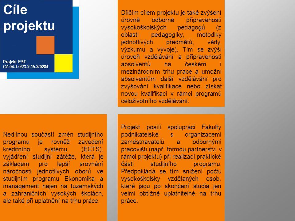 Tým řešitelů Projekt ESF CZ.04.1.03/3.2.15.2/0284 Fakulta podnikatelská VUT v BrněFunkce Doc.