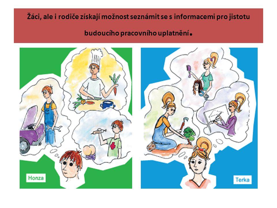 Žáci, ale i rodiče získají možnost seznámit se s informacemi pro jistotu budoucího pracovního uplatnění.