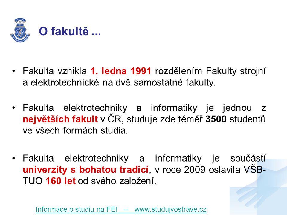 Vývoj počtu studentů Informace o studiu na FEI -- www.studujvostrave.cz
