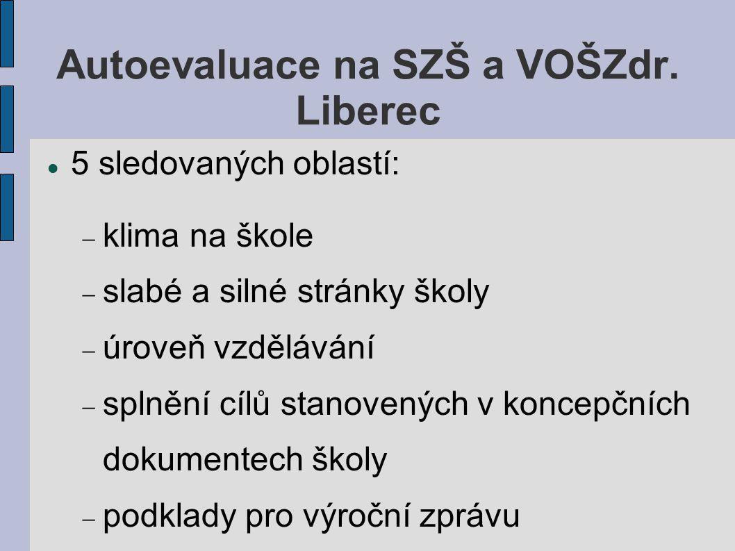 Autoevaluace na SZŠ a VOŠZdr.