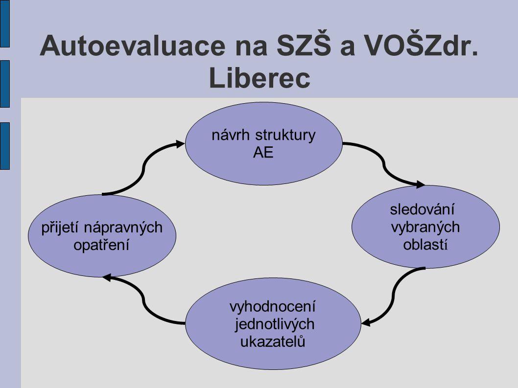 návrh struktury AE vyhodnocení jednotlivých ukazatelů sledování vybraných oblast í přijetí nápravných opatření