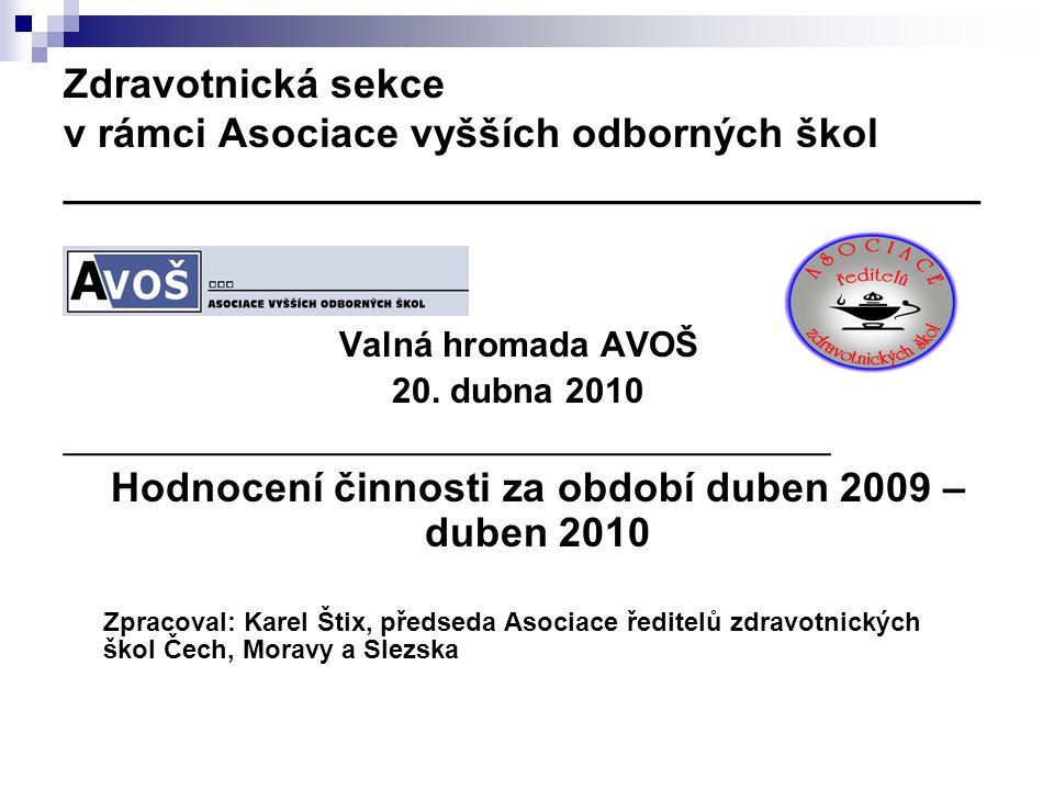  Priorita AŘZŠ:  Zamezit schválení novely zákona č.96/2004 Sb.