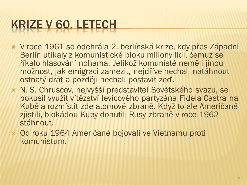  V roce 1961 se odehrála 2.