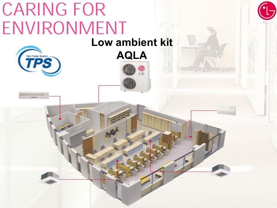 SPLIT UNITS (set model only) RAC Product data Low ambient kit AQLA