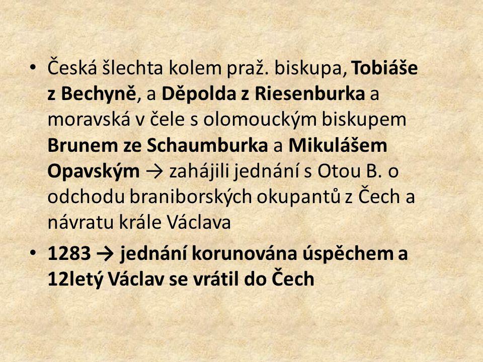 Česká šlechta kolem praž.