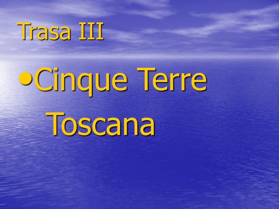 Trasa III Cinque Terre Cinque Terre Toscana Toscana
