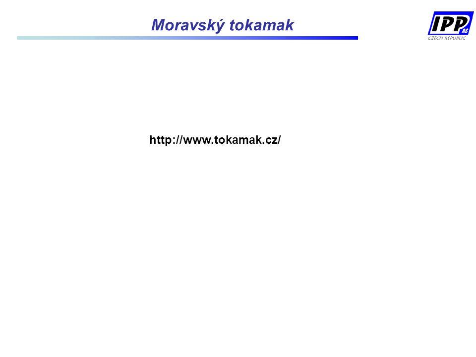 http://www.tokamak.cz/ Moravský tokamak