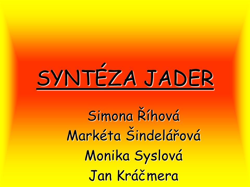Co je to syntéza jader.