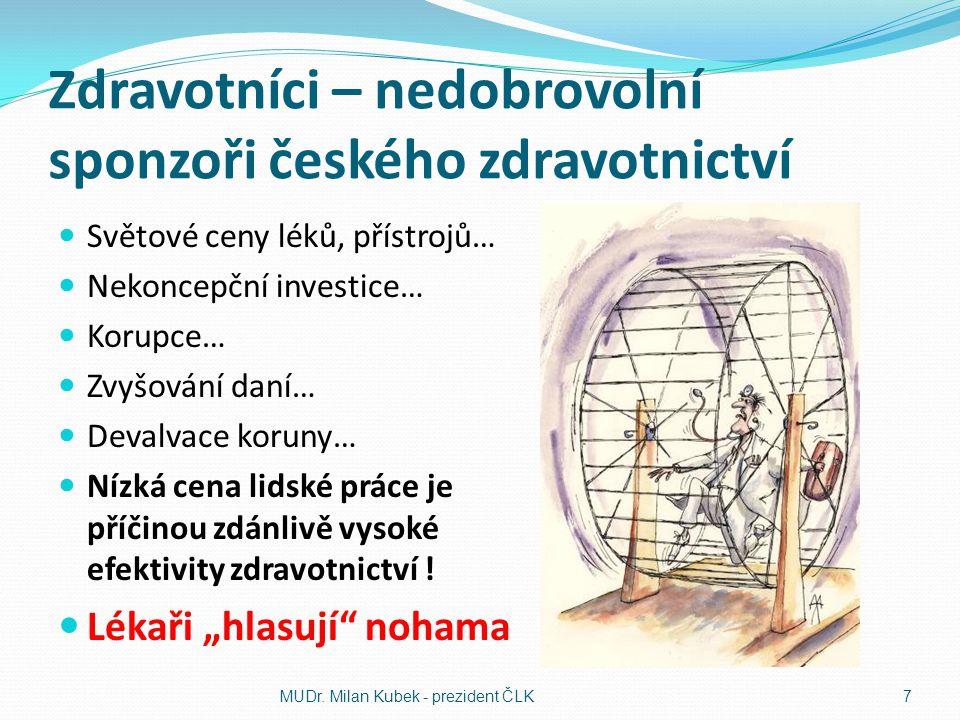 Plán stabilizace českého zdravotnictví Další šetření ve zdravotnictví je možné, ale jen stěží bez negativních dopadů na pacienty.