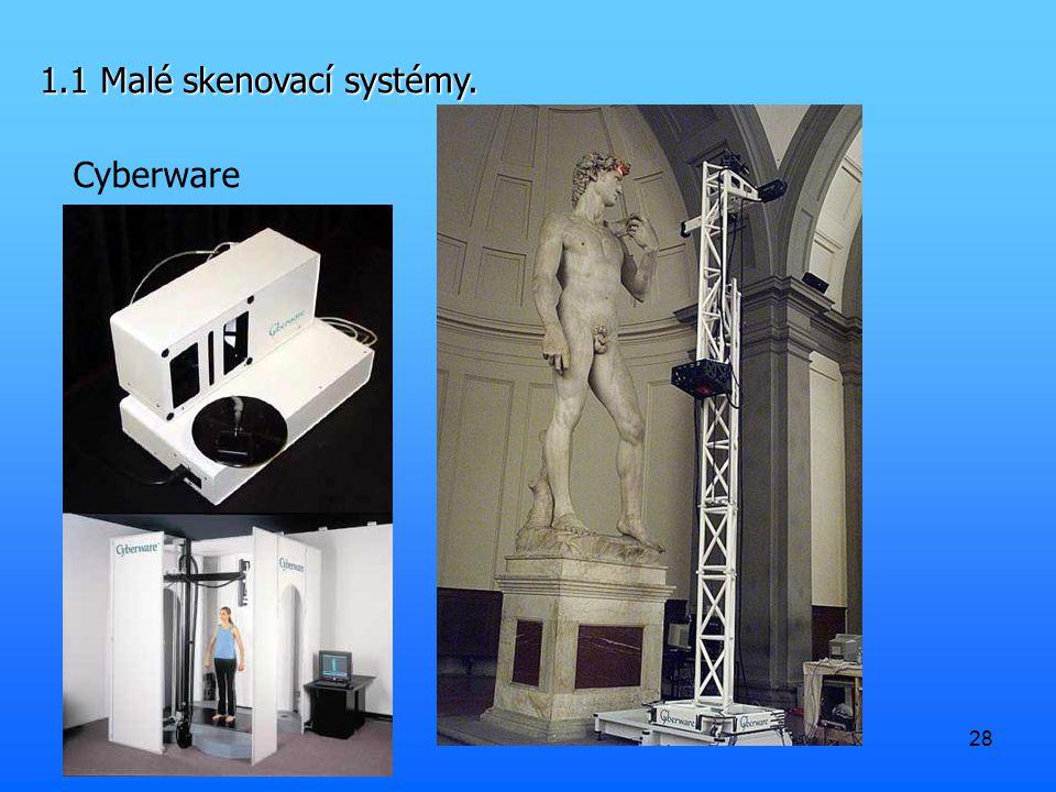 28 1.1 Malé skenovací systémy. Cyberware