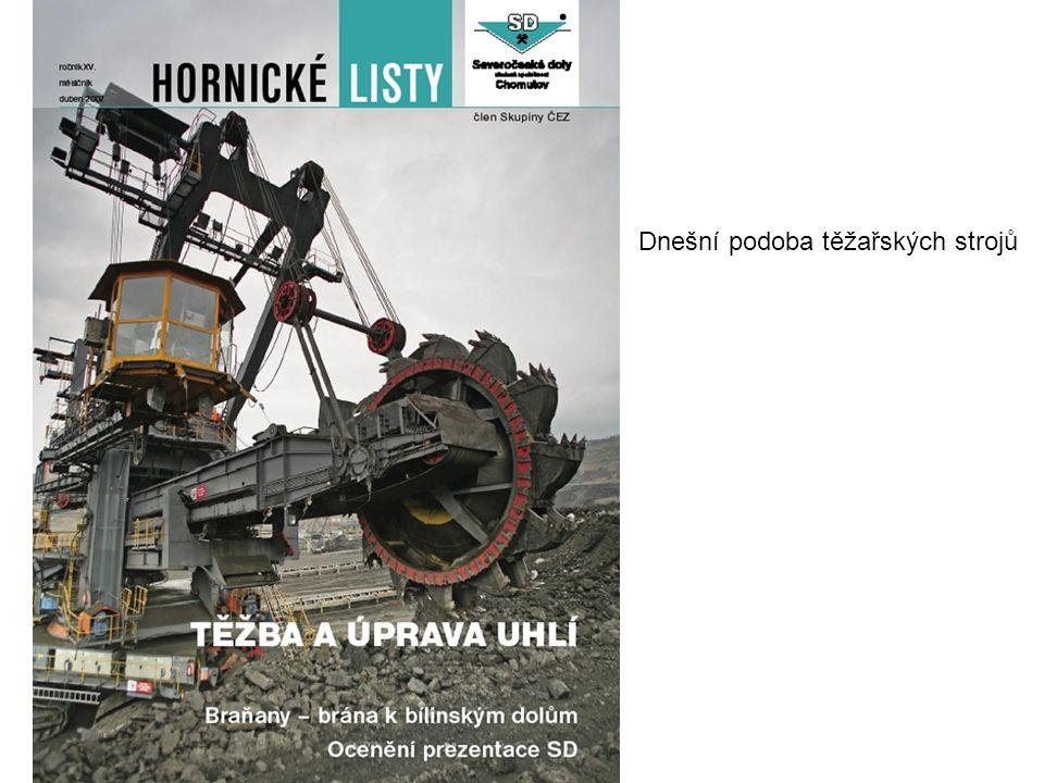 Dnešní podoba těžařských strojů