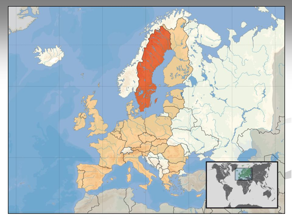 Geografie Skandinávské pohoří Skandinávské pohoří Botnický záliv Botnický záliv Ostrovy : Ostrovy : Gotland Gotland Öland Öland Jezera : Jezera :Väner